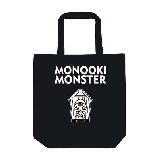 MONOOKI MONSTER ECO BAG BK